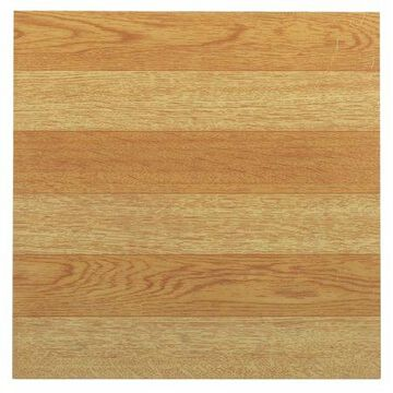 Achim Sterling Self Adhesive Vinyl Floor Tile - 45 Tiles/45 Sq. Ft, 12 x 12, Light Oak