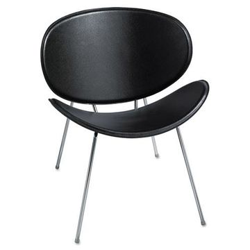 Safco Sy Leather Guest Chair