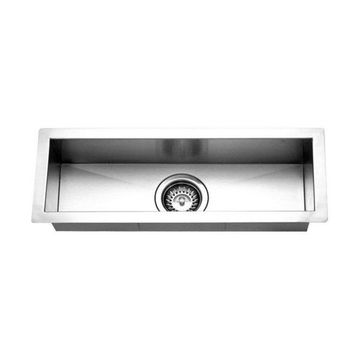 Houzer CTB-2385 Contempo Series Undermount Stainless Steel Bar/Prep Si