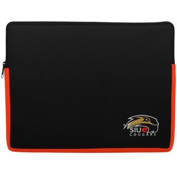 Southern Illinois Edwardsville Cougars 15'' Laptop Sleeve - Black