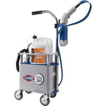 Clorox Total 360 Electrostatic Sprayer, Clear