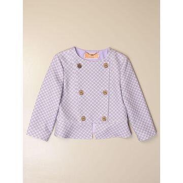 Elisabetta Franchi patterned crewneck jacket