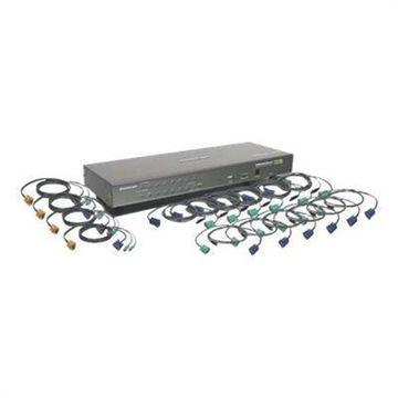 IOGEAR16-Port USB PS/2 Combo KVM Switch with Cables(GCS1716KITTAA)
