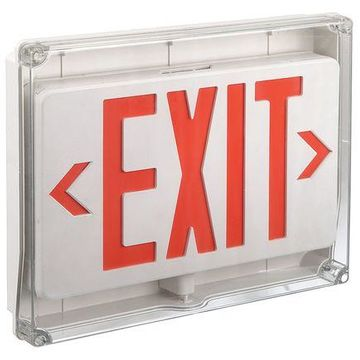 LUMAPRO 35GW98 LUMAPRO ABS LED Exit Sign