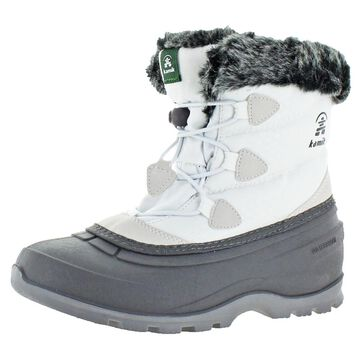 Kamik Momentum Lo Women's Waterproof Nylon Cuffed Winter Snow Boots