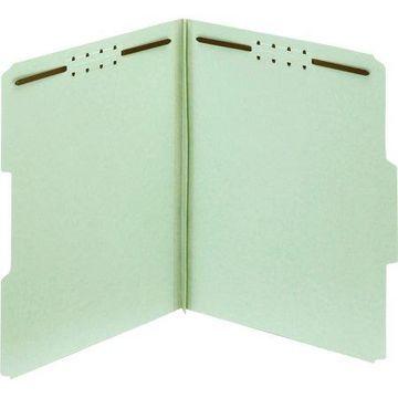 Pendaflex, PFX24934R, Green Pressboard Fastener Folders, 25 / Box, Light Green