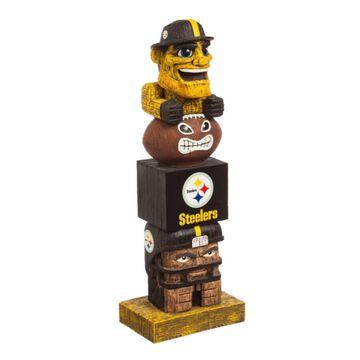 Evergreen Pittsburgh Steelers Tiki Totem
