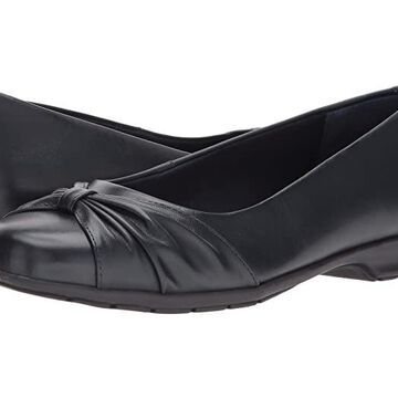 Walking Cradles Fall (Navy Leather) Women's Shoes