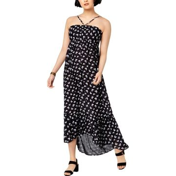 William Rast Womens Floral Pullover Sundress