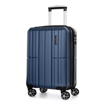 Bugatti Lyon Hard Side Luggage, Blue, 24 INCH