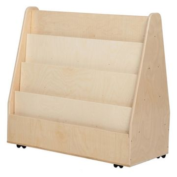 Wood Designs Contender Mobile Double Sided Book Display