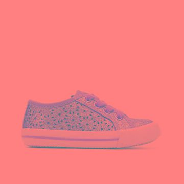 Self Esteem Toddler Riri Children's Shoe (Pink - Size 8 - Toddler - Faux Leather)