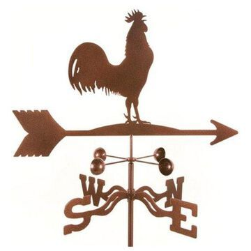 EZ Vane Rooster Bird Weathervane With Deck Mount