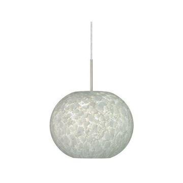 Besa Lighting 1JT-477619-LED Luna 1 Light LED Cord-Hung Pendant