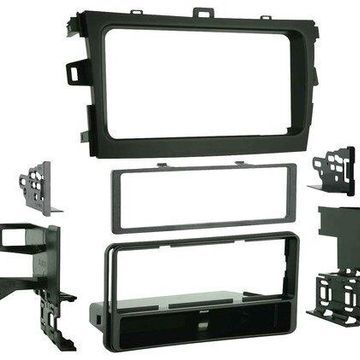Metra - Dash Kit for Select 2009-2013 Toyota Corolla - Black