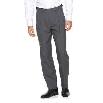 Big & Tall Croft & Barrow Classic-Fit Easy-Care Pleated Dress Pants