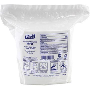 Gojo Hand Sanitizing Wipes 1700/PK 3400/CT 921702
