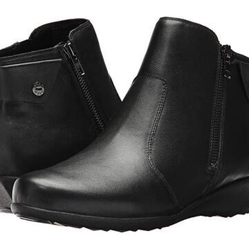 Drew Athens (Black Leather) Women's Shoes