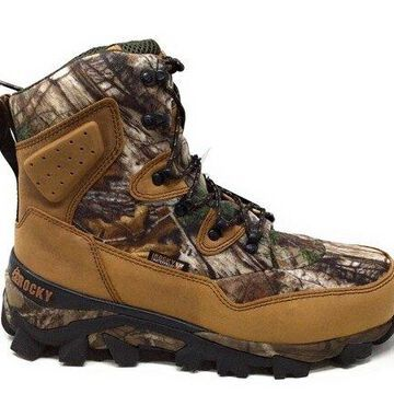 Rocky Men's RKS0324 Mid Calf Boot, Brown Realtree Xtra Camoflauge, 8 W US