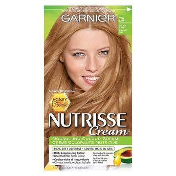 Garnier Nutrisse Nourishing Color Cream Hair Colour, Dark Honey Blonde 7.34