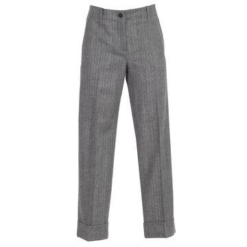 Alberto Biani Pants Flannel Wool