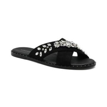 Women's Faken Embellished Slide Sandals Women's Shoes