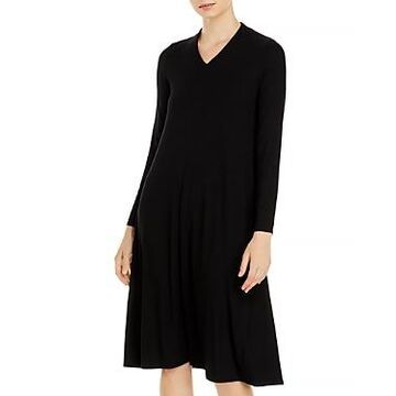 Eileen Fisher V Neck Dress