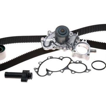 ACDelco Timing Belt & Components, Professional Engine Timing Belt Kit with Water Pump