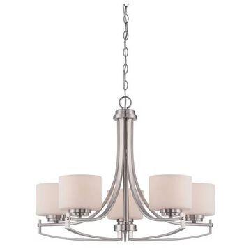 Designers Fountain 86285-SP 5-Light Chandelier