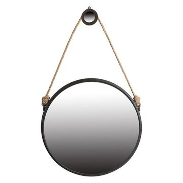 Hanging Mirror With Rope, 29.5