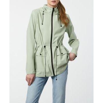 Bernardo Micro-Breathable Rain Anorak Coat