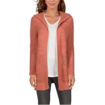 Natural Reflections Open-Knit Long-Sleeve Cardigan for Ladies