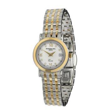 Raymond Weil Women's 5393-STP-00995 'Toccata' Diamond Two-Tone Stainless Steel Watch