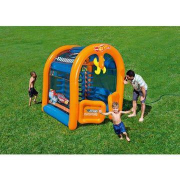 Hot Wheels Inflatable Car Wash Play Center