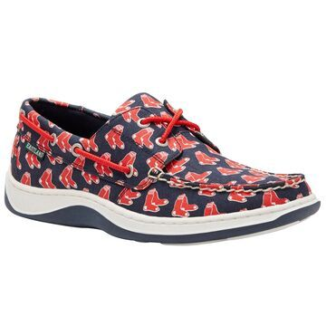 Eastland Boston Red Sox Navy Summer Boat Shoes