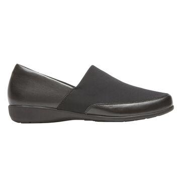 Aravon Womens Abbey A-Line Slip-On Shoes - Size 7 2A Black
