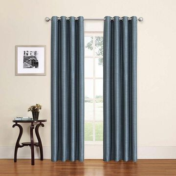 Eclipse Blackout Grommet-Top Curtain Panel