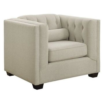 Coaster Cairns Accent Chair in Oatmeal