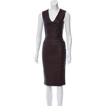 2019 Knee-Length Dress w/ Tags Purple