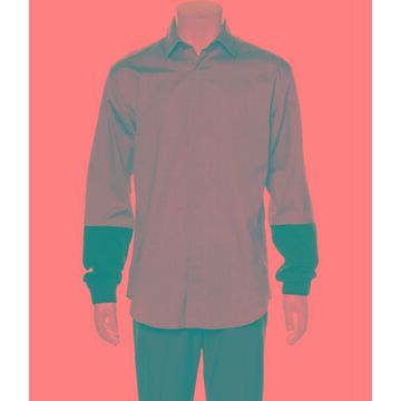 Long Sleeve Dress Shirt Blue