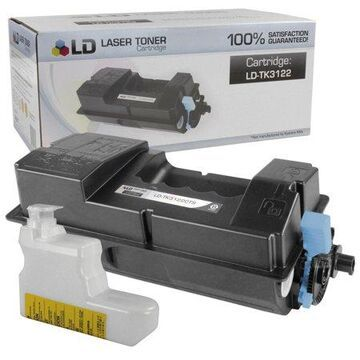 LD Compatible Toner Cartridge Replacement for Kyocera TK-3122 1T02L10US0 (Black)