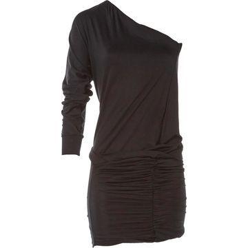 Pinko Black Viscose Dresses