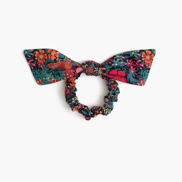 Knotted hair tie in Liberty& ciara print