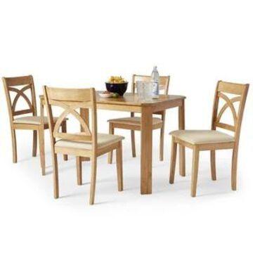 Simple Living 5-piece Verbena Dining Set (Brown)