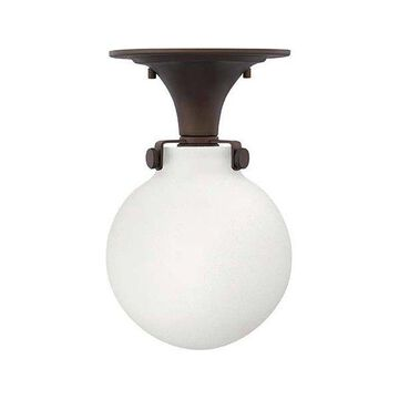 Hinkley Lighting 3143 Congress 1 Light Indoor Semi Flush Ceiling Fixture