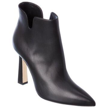 Manolo Blahnik Forlana 105 Leather Bootie