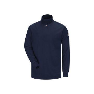 Bulwark Men's Long-Sleeve Mock Turtleneck T-Shirt