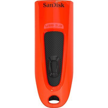 SanDisk - 64GB USB Type A Flash Drive - Red