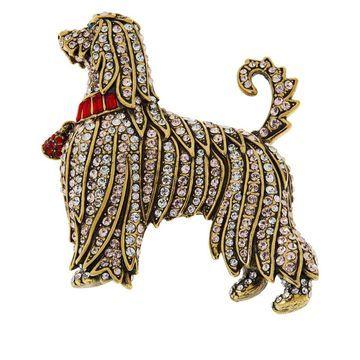 Heidi Daus Afghan Aristocrat Crystal Pin