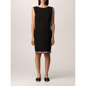 Love Moschino sheath dress in cotton